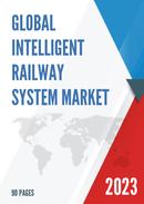 Global Intelligent Railway System Market Size Status and Forecast 2021 2027