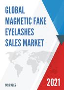 Global Magnetic Fake Eyelashes Sales Market Report 2021