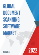 Global Document Scanning Software Market Size Status and Forecast 2021 2027