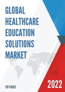 Global Healthcare Education Solutions Market Size Status and Forecast 2021 2027