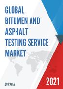 Global Bitumen And Asphalt Testing Service Market Size Status and Forecast 2021 2027