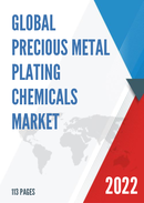 Global and China Precious Metal Plating Chemicals Market Insights Forecast to 2027
