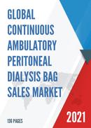 Global Continuous Ambulatory Peritoneal Dialysis Bag Sales Market Report 2021