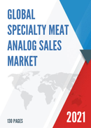 Global Specialty Meat Analog Sales Market Report 2021