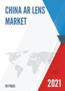 China AR Lens Market Report Forecast 2021 2027