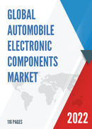 Global Automobile Electronic Components Market Size Status and Forecast 2021 2027