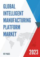 Global Intelligent Manufacturing Platform Market Size Status and Forecast 2021 2027