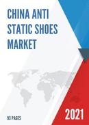 China Anti Static Shoes Market Report Forecast 2021 2027