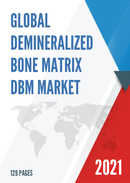 Global Demineralized Bone Matrix DBM Market Size Manufacturers Supply Chain Sales Channel and Clients 2021 2027