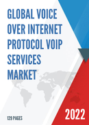 Global Voice over Internet Protocol VoIP Services Market Size Status and Forecast 2021 2027
