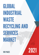 Global Industrial Waste Recycling and Services Market Size Status and Forecast 2021 2027