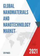 Global Nanomaterials and Nanotechnology Market Size Status and Forecast 2021 2027