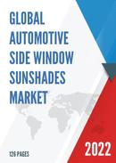Global and United States Automotive Side Window Sunshades Market Insights Forecast to 2027