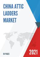 China Attic Ladders Market Report Forecast 2021 2027