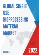 Global Single use Bioprocessing Material Market Size Status and Forecast 2021 2027