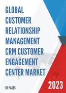 Global Customer Relationship Management CRM Customer Engagement Center Market Size Status and Forecast 2021 2027