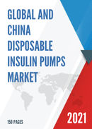 Global and China Disposable Insulin Pumps Market Insights Forecast to 2027
