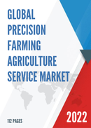 Global Precision Farming Agriculture Service Market Size Status and Forecast 2021 2027