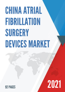 China Atrial Fibrillation Surgery Devices Market Report Forecast 2021 2027