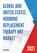 Global and United States Hormone Replacement Therapy HRT Market Size Status and Forecast 2021 2027