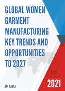Global Women Garment Manufacturing Key Trends and Opportunities to 2027