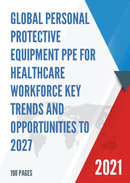 Global Personal Protective Equipment PPE for Healthcare Workforce Key Trends and Opportunities to 2027