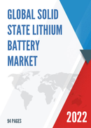 Global Solid State Lithium Battery Market Size Status and Forecast 2021 2027