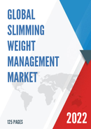 Global Slimming Weight Management Market Size Status and Forecast 2021 2027