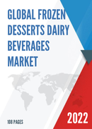 Global and Japan Frozen Desserts Dairy Beverages Market Insights Forecast to 2027
