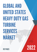 Global Heavy Duty Gas Turbine Services Market Size Status and Forecast 2021 2027