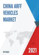 China ARFF Vehicles Market Report Forecast 2021 2027