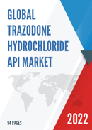 Global Trazodone Hydrochloride API Market Size Manufacturers Supply Chain Sales Channel and Clients 2021 2027