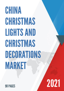 China Christmas Lights and Christmas Decorations Market Report Forecast 2021 2027