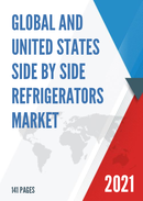 Global and United States Side by Side Refrigerators Market Insights Forecast to 2027