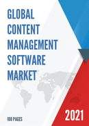 Global Content Management Software Market Size Status and Forecast 2021 2027