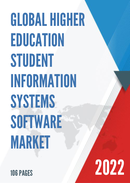 Global Higher Education Student Information Systems Software Market Size Status and Forecast 2021 2027