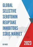 Global Selective Serotonin Reuptake Inhibitors SSRIs Market Size Status and Forecast 2021 2027