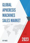 China Apheresis Machines Market Report Forecast 2021 2027
