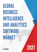 Global Business Intelligence and Analytics Software Market Size Status and Forecast 2021 2027