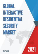 Global Interactive Residential Security Market Size Status and Forecast 2021 2027
