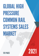 Global High Pressure Common Rail Systems Sales Market Report 2021