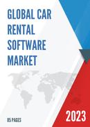 Global Car Rental Software Market Size Status and Forecast 2021 2027