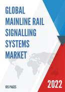 Global Mainline Rail Signalling Systems Market Size Status and Forecast 2021 2027