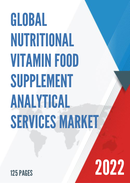 Global Nutritional Vitamin Food Supplement Analytical Services Market Size Status and Forecast 2021 2027