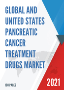 Global and United States Pancreatic Cancer Treatment Drugs Market Size Status and Forecast 2021 2027