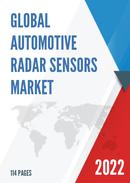 Global and Japan Automotive Radar Sensors Market Insights Forecast to 2027