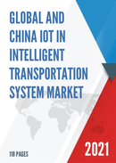 Global and China IoT in Intelligent Transportation System Market Size Status and Forecast 2021 2027