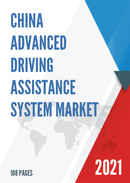 China Advanced Driving Assistance System Market Report Forecast 2021 2027
