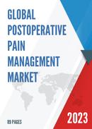Global Postoperative Pain Management Market Size Status and Forecast 2021 2027