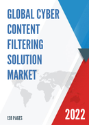 Global Cyber Content Filtering Solution Market Size Status and Forecast 2021 2027